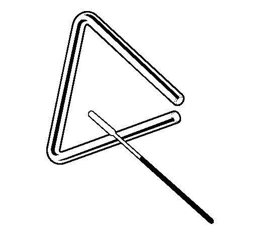 Triangle coloring page Coloringcrewcom