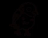 True sparrow coloring page