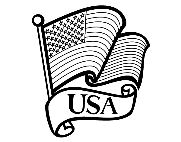 united states flag coloring page - search results for blank united states of america sheet