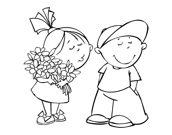 valentine coloring pages spanish - photo #46
