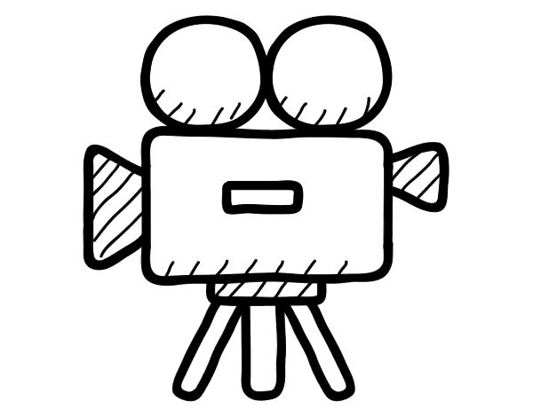 Video camera coloring page - Coloringcrew.com: jobs.coloringcrew.com/other-jobs/video-camera.html