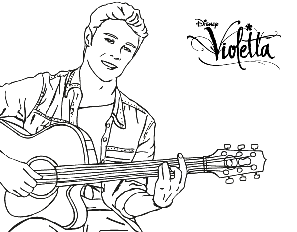 Free Coloring Pages Of Violetta Season 2