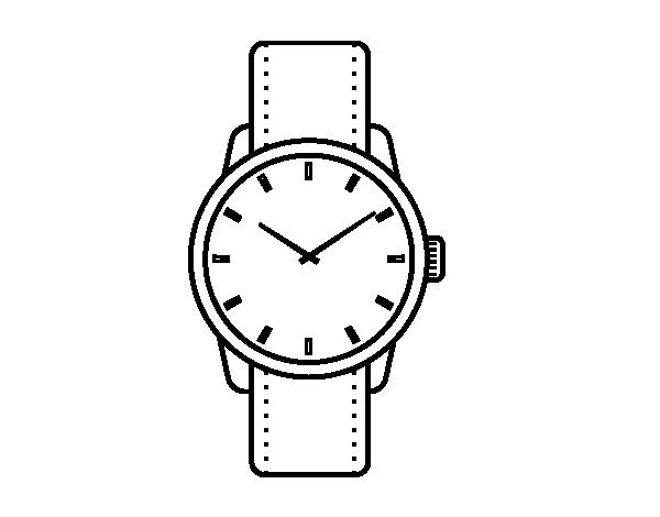 Раскраски часов наручных