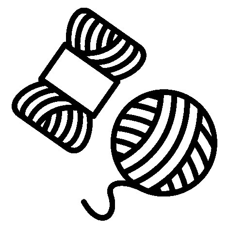 Wool coloring page