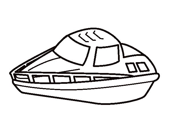 yacht coloring page coloringcrewcom