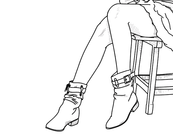young legs coloring page coloringcrewcom