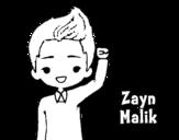 Zayn Malik coloring page