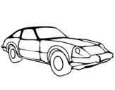 Coloring page Sports car painted bybbbbbbbbbbbbbbbbbbbbbbbbb