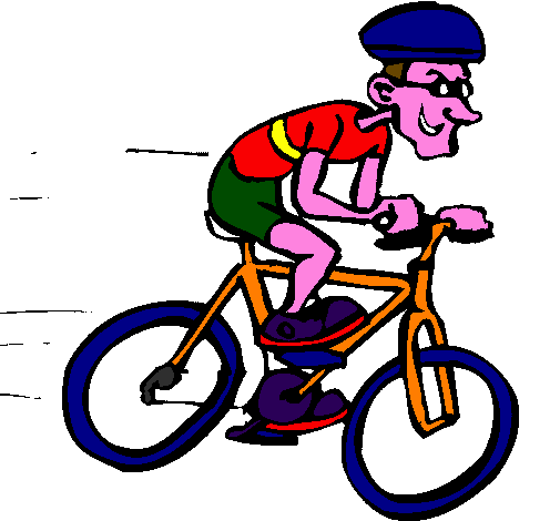 Coloring page Cycling painted byivimini