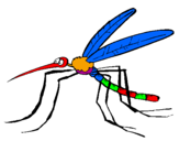 Coloring page Mosquito painted byivo