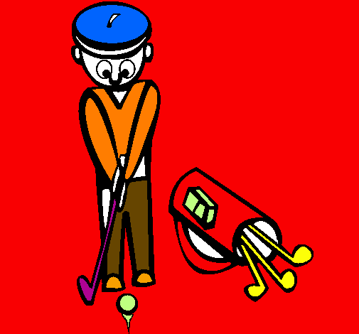 Coloring page Golf II painted byguilherme