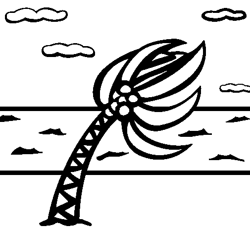 Coloring page Hurricane painted byhurricane