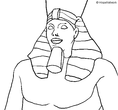 Coloring page Ramesses II painted byALEX HOWARD