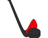 Coloring page Stick and puck painted bycynthia