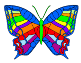 Coloring page Butterfly  painted bymariposa de colores