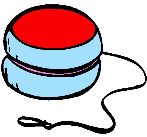 Coloring page Yo-yo painted byYOYO
