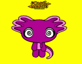 Coloring page Mostro 3 painted byL.J.