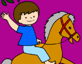 Coloring page Horse painted byaiste112