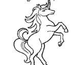 Coloring page Unicorn painted bylilypipe12