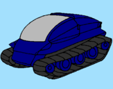 Coloring page Tank ship painted byBo