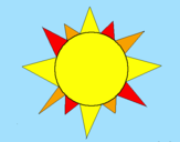 Coloring page Sun painted bybillybobjr