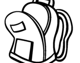 Coloring page School bag II painted byBAGS