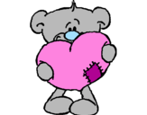 Coloring page Love II painted byi luv snoopy