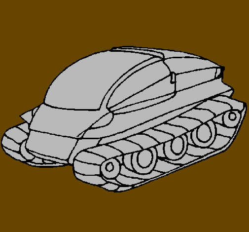 Coloring page Tank ship painted bySuper Smash Bros Brawl