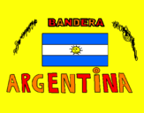 Coloring page Argentina painted byL.J.