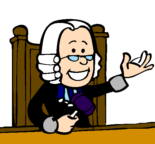 Coloring page Judge painted bychofitas