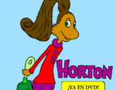 Coloring page Horton - Sally O'Maley painted byreptar