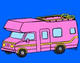 Coloring page Caravan painted bysarah