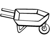 Coloring page Barrow painted byjoeL