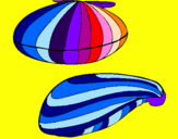 Coloring page Clams painted byANA SOPHIIA