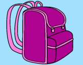 Coloring page Backpack painted by1122334455667788991010