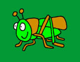 Coloring page Grasshopper 2 painted bymaximo