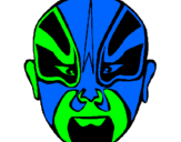 Coloring page Wrestler painted bymuhon