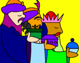 Coloring page The Three Wise Men 3 painted byFFFDoso