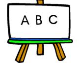 Coloring page Blackboard painted bymariela