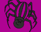 Coloring page Spider painted bydoganna