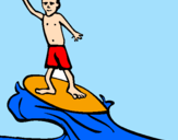 Coloring page Surf painted byycfcfrtcfcfgcfgcfgcgfcgfc