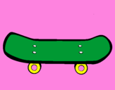 Coloring page Skateboard II painted byisaquejv