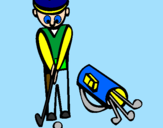 Coloring page Golf II painted bysalvatore