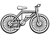 Coloring page Bike painted byANDRE