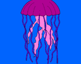 Coloring page Jellyfish painted bySavannah Alla St.Louis