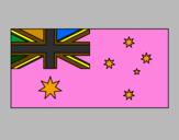 Coloring page Australia painted by;ljl;ljljlklkjmj