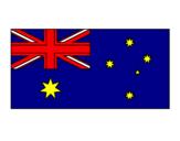 Coloring page Australia painted bycarolina d