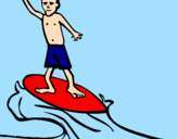Coloring page Surf painted byjutghjk,m 333333333333335