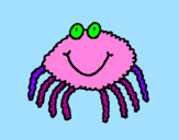 Coloring page Spider 4 painted bygiugaia