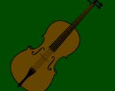 Coloring page Violin painted bybarbara ribas emidio